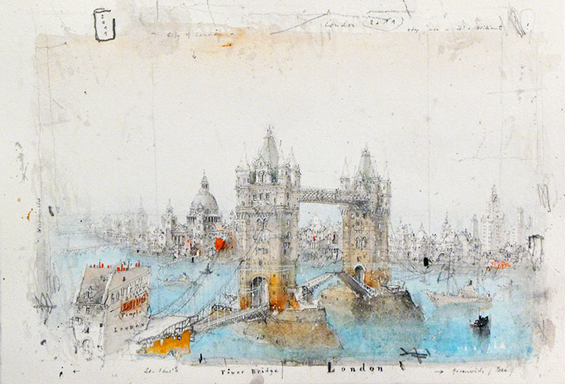 London-Tower-Bridge-St-Paul-2011 7-5x11-25